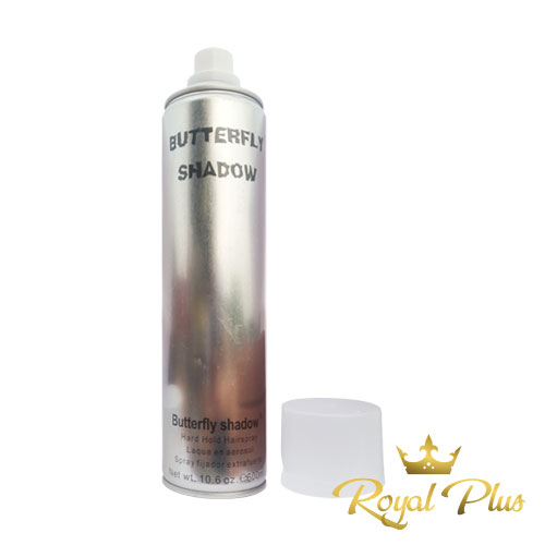 Gôm xịt tóc Butterfly Shadow 600ml