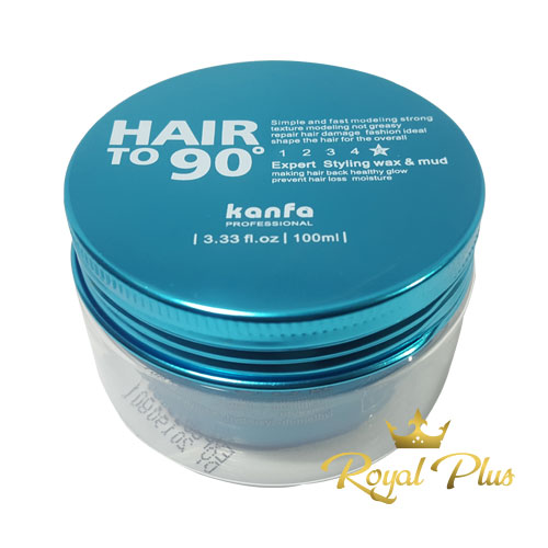 Sáp vuốt tóc Hair To 90 Xanh Dương