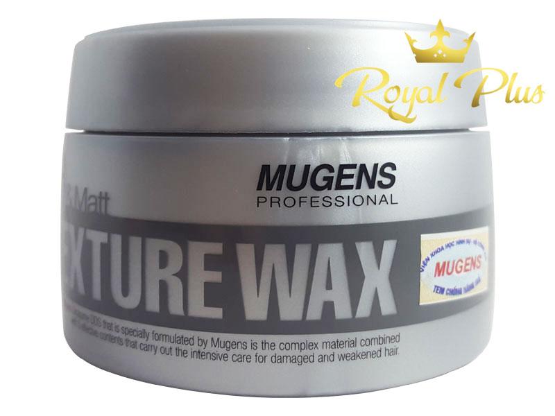 sáp vuốt tóc mugens wax texture