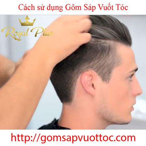 Hướng dẫn cách sử dụng gôm sáp vuốt tóc