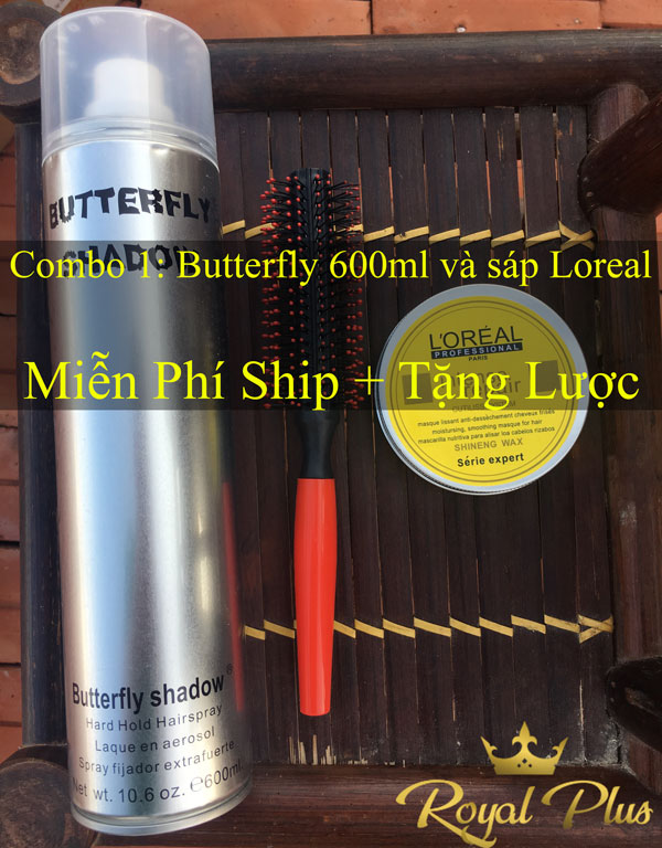 butterfly 600ml-loreal