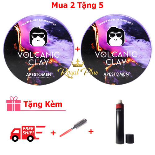 Combo 2 hộp Volcanic Clay Version 4 Tặng 5